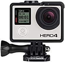Comprar GoPro HERO4 Silver Edition Adventure - Videocámara deportiva (12 Mp, Wi-Fi, Bluetooth, sumergible hasta 40 m)