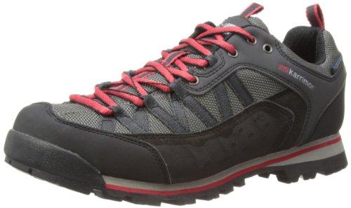 Karrimor Spike Low Weathertite, Scarpe da trekking ed escursionismo uomo, Colore Nero (nero/rosso), Taglia 43 EU (9 UK)