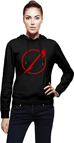 Metallica Never Logo Cappuccio da donna Women Jacket with Hoodie Stylish Fashion Fit Custom Apparel By Genuine Fan Merchandise Small