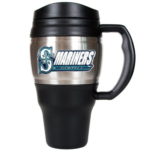 MLB Seattle Mariners 20-Ounce Travel Mug