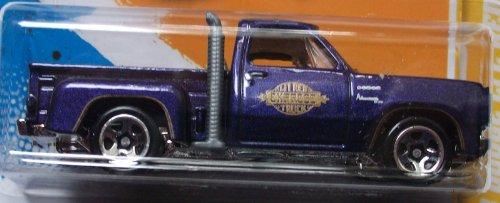 2012 Hot Wheels New Models '78 Dodge Li'L Red Express Pickup 34/50 (Purple)