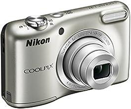 """Nikon Coolpix L31 Fotocamera compatta digitale, 16 Megapixel, Zoom 5X, ISO 1600, display da 3"""", colore: argento [Nital card: 4 anni di garanzia]"""