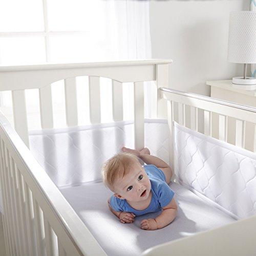 breathablebaby breathable deluxe embossed mesh crib liner