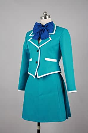 Cool-Coser Cosplay Costume L-Large Size Kaze no Stigma Girl'Uniform Japanese Girl Boy Party Fiesta Festival Dress For Coser