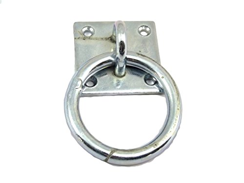 Mooring Ring on Plate (Tie down, Horse box) By PAYLESS HARDWARE®