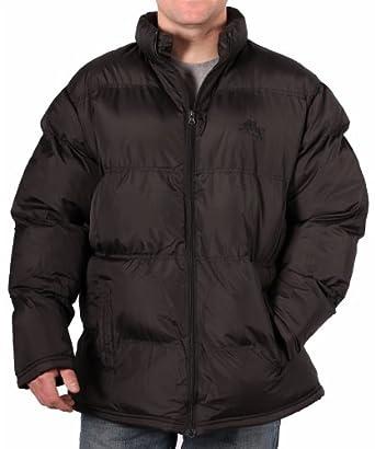 Max's Quality Dry Goods Men's Poly Bubble Jacket, Black, Size Large