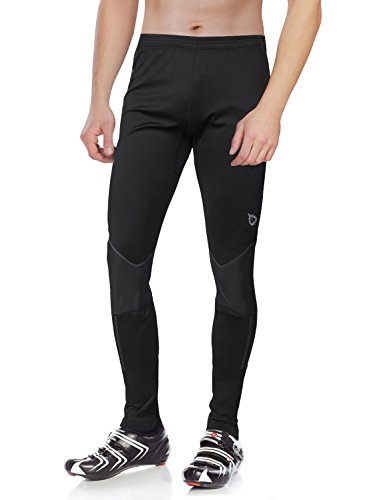 Baleaf Men's Windproof Thermal Cycling Tight Pants Size XL (Cycling Rain Pants Men compare prices)