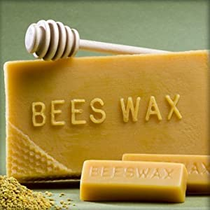 Beeswax For Candlemaking (1 lb. block) from Hansi Naturals