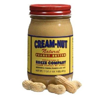 Cream-Nut Crm-Nut Nat Smooth Pbtr 17 oz (Pack Of 12) (Cream Nut compare prices)