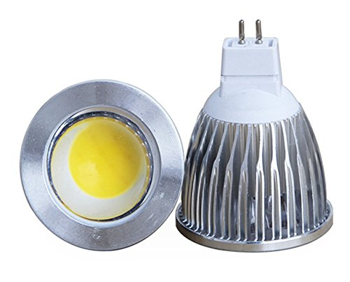 Eonice 12V 7W Mr16 Cob Led Bulb Spotlight, High Power Cob Led Chip - Cool White 6500K, 65 Watt Equivalent 630 Lumen, 60 Degree Beam Angle For Landscape, Recessed, Track Lighting