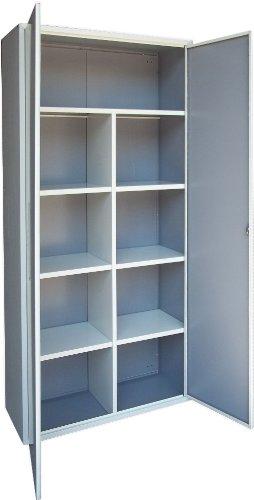Armadio Ufficio Metallo Archivio 2m x 1m x 40 *Porta Colorata e Spedizione Gratis*