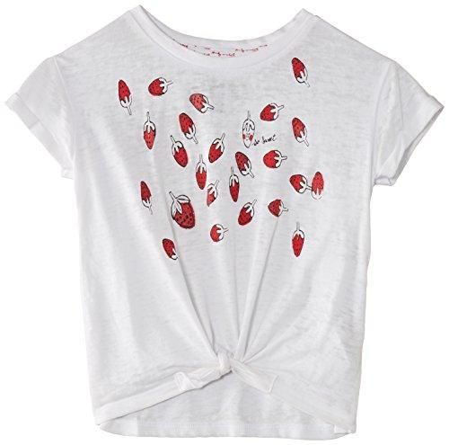 Pepe Jeans - Sugar, T-shirt da bambine e ragazze,  manica corta, collo rotondo, bianco(weiß - weiß), taglia produttore: 8 anni