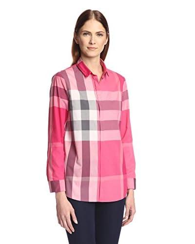 Burberry Women's Check Shirt