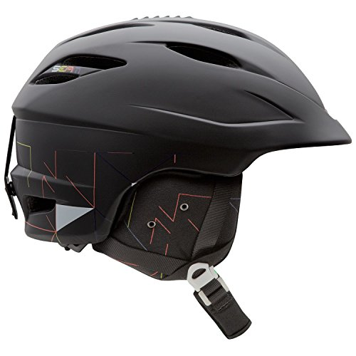 [GIRO] ジロ SEAM シーム スノー ヘルメット 【並行輸入品】 (Matte Black Lazer Tag, L (59~62.5cm))