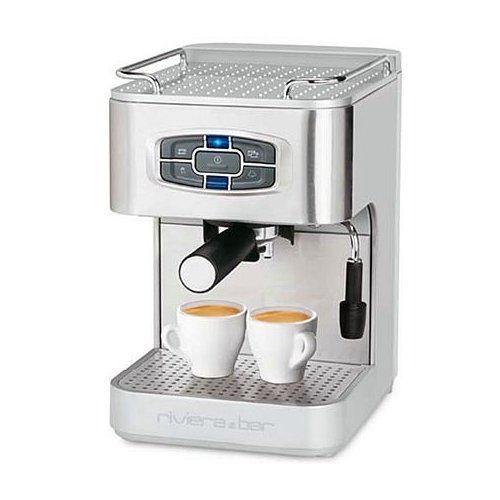 Caf riviera bar ce420a machines expresso automatique inox 19 bars - Machine a cafe riviera ...