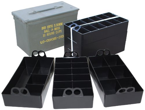 Great Features Of MTM Ammo Can Organizer (Black)