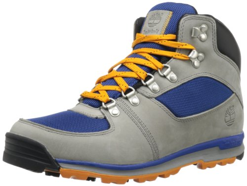 Timberland Men's GT Scramble Mid LF Hiking Boot,Light Grey/Blue,15 M US