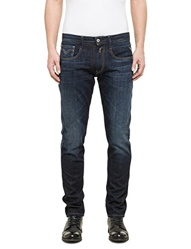 Replay - Anbass, Jeans da uomo, blu (blau  (blue denim 7)), W34/L34 (34)