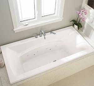 Neptune Believe Rectangular Mass Air x Whirlpool Bath Tub