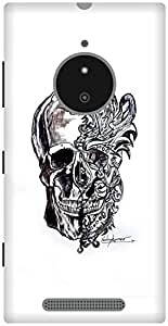 The Racoon Grip Mask hard plastic printed back case / cover for Nokia Lumia 830