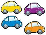 Carson Dellosa CD-120079 Coches Acentos Con estas Cortes de colores!