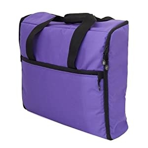 BlueFig EMB23IM Embroidery Arm Travel Bag in Purple from Bluefig
