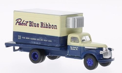 chevrolet-41-46-pabst-blue-ribbon-modellauto-fertigmodell-classic-metal-works-187