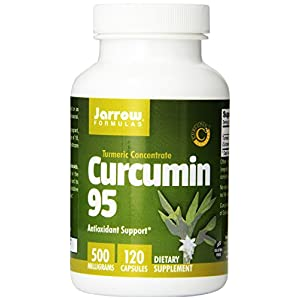 Jarrow Formulas Curcumin 95, 500 mg, 360 Count Pack (1q7on16)