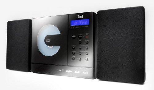 Vertical 150 Kompaktanlage (CD/MP3/WMA-Player, UKW-Tuner, USB, SD-Kartenslot) Schwarz