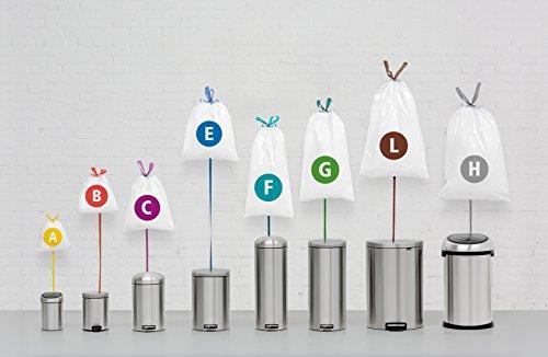 brabantia trash bags size g 6 8 gallon 23 30 liter