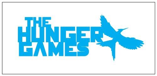 Hunger Games Sticker Decal Blue