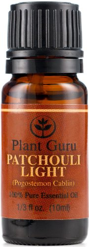 Patchouli Essential Oil (Light) 10 Ml. 100% Pure, Undiluted, Therapeutic Grade.