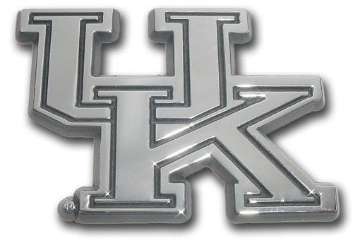 NCAA Kentucky Wildcats Chrome Team Logo Auto Emblem at Amazon.com