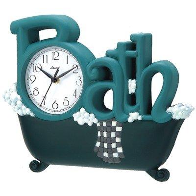Bathroom clock new haven 1572gr remail bath clock for Bathroom clock ideas