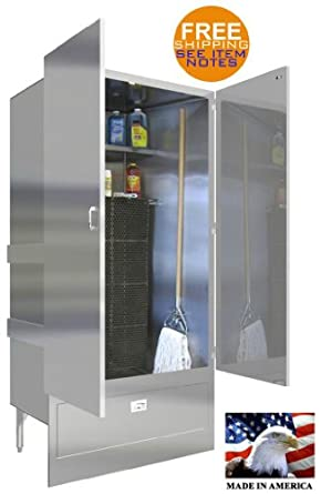 Mop Sink Cabinet : ... lighting cabinets racks shelves shelving storage storage cabinets