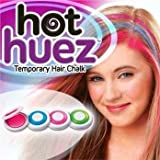 Hot Huez Temporary Hair Chalk-Set of 4 Colors