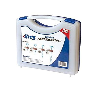 Kreg Jig K4 Pocket Hole System With SK03 Pocket-Hole Screw Kit from Kreg