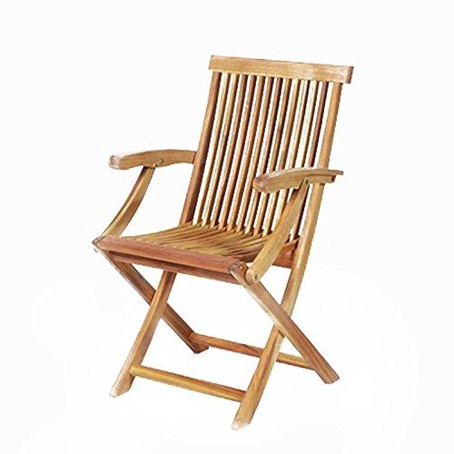 Gartenstuhl – Sessel – Hartholzstuhl – Stuhl – Akazienholz – Holzstuhl – JAVA günstig
