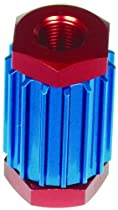 Professional Products 10210 Powerflow Red and Blue Inline Filter