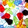 25g Mixed Acrylic Faceted Teardrop Beads - 12mm - A5359