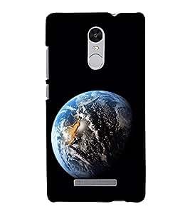 Blue Earth 3D Hard Polycarbonate Designer Back Case Cover for Xiaomi Redmi Note 3 :: Xiaomi Redmi Note 3 Pro :: Xiaomi Redmi Note 3 MediaTek
