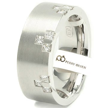 .30ct VVS E-F 14K White Gold Fashionable High