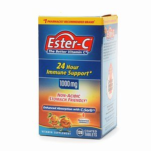 Ester C Vitamin C 1000Mg 120 Coated Tablets