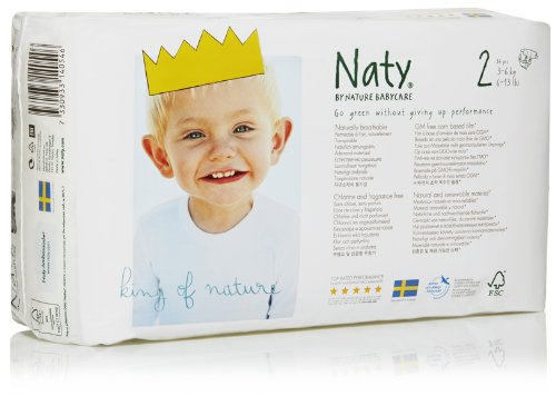 Naty Diapers - Size 2 - 34 ct - 1