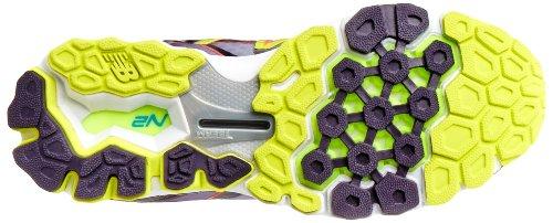 888098226782 - New Balance Women's W1080 Cushion Running Shoe,Silver/Purple,12 D US carousel main 2