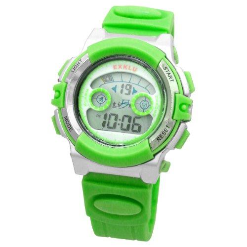 [Elite] ELITE ELITE EXKLU digital watch light green 6116-3LGR