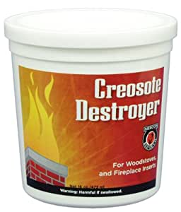 MEECO'S RED DEVIL 25 2-Pound Creosote Destroyer