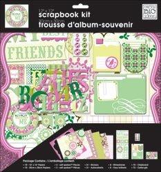 Me & My Big Ideas My Friends 12x12 Scrapbooking Page Kit
