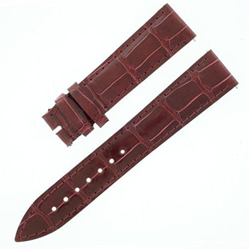 franck-muller-18-16-mm-bracelet-en-alligator-veritable-cuir-brillant-cerise
