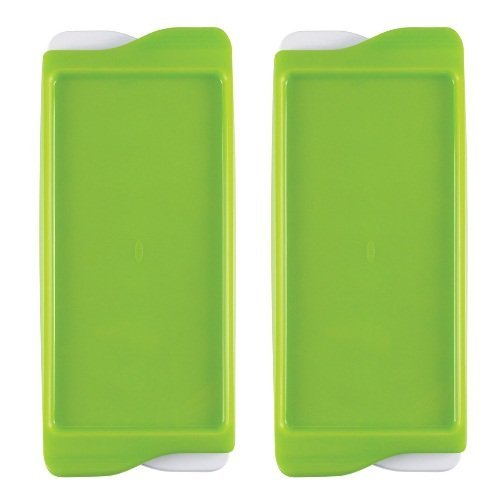 OXO Tot Baby Food Freezer Tray - Green - 2 pk